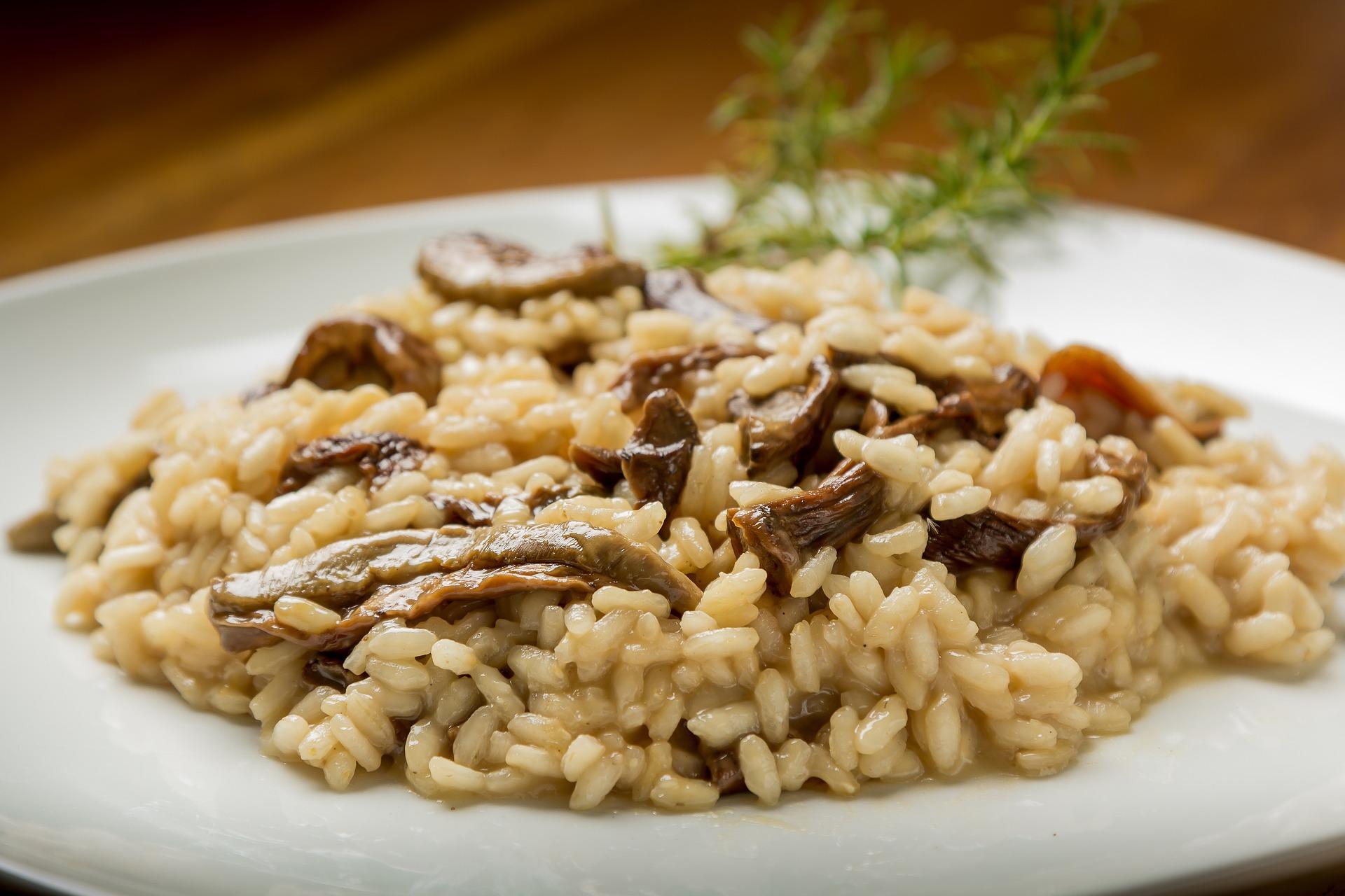 Kroatisches Essen - Risotto
