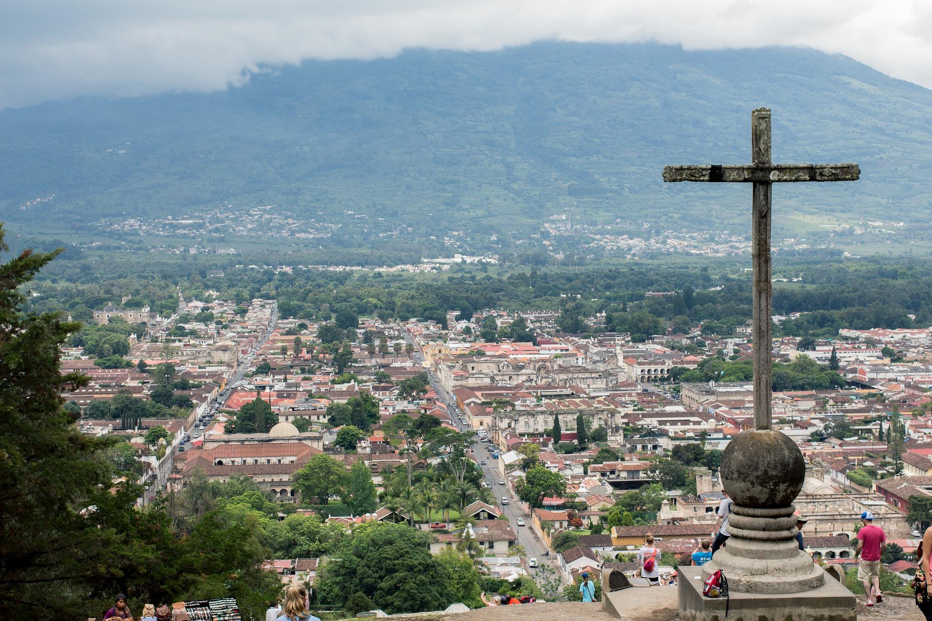 La Antigua Guatemala Ostern - Stadt