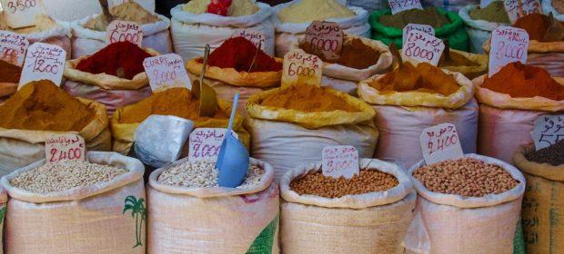 Marokko Agadir - Gewürze