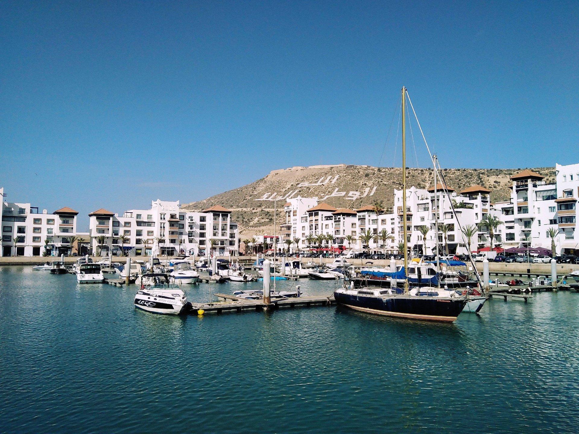 Marokko Agadir - Hafen