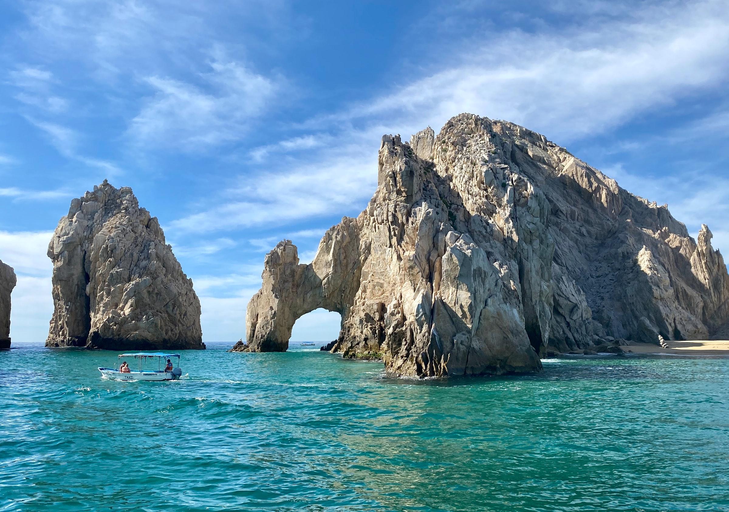 Mexiko Pazifikküste Meer Felsen