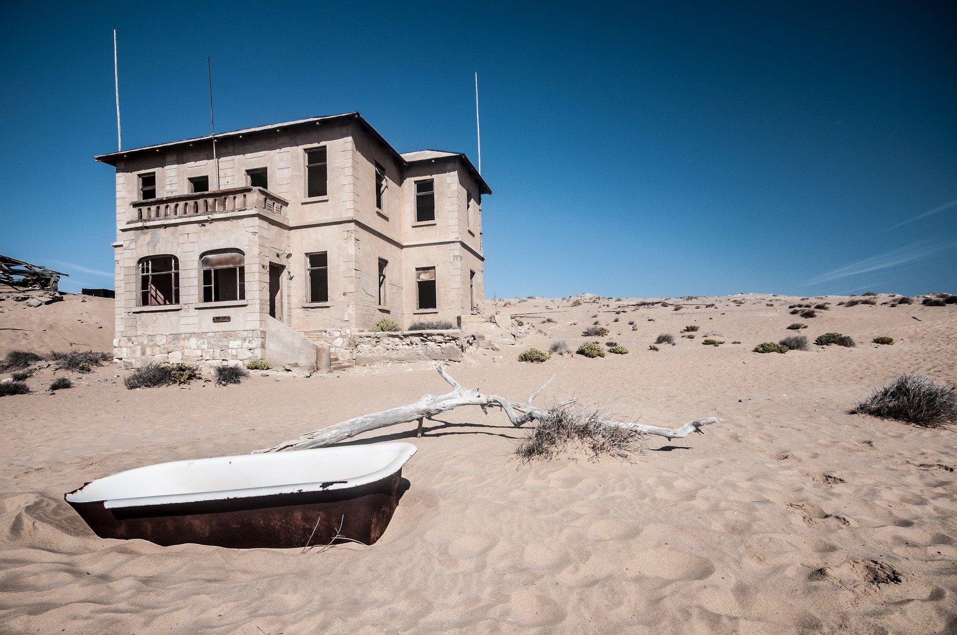 Namibia Sehenswürdigkeiten - Kolmannskuppe