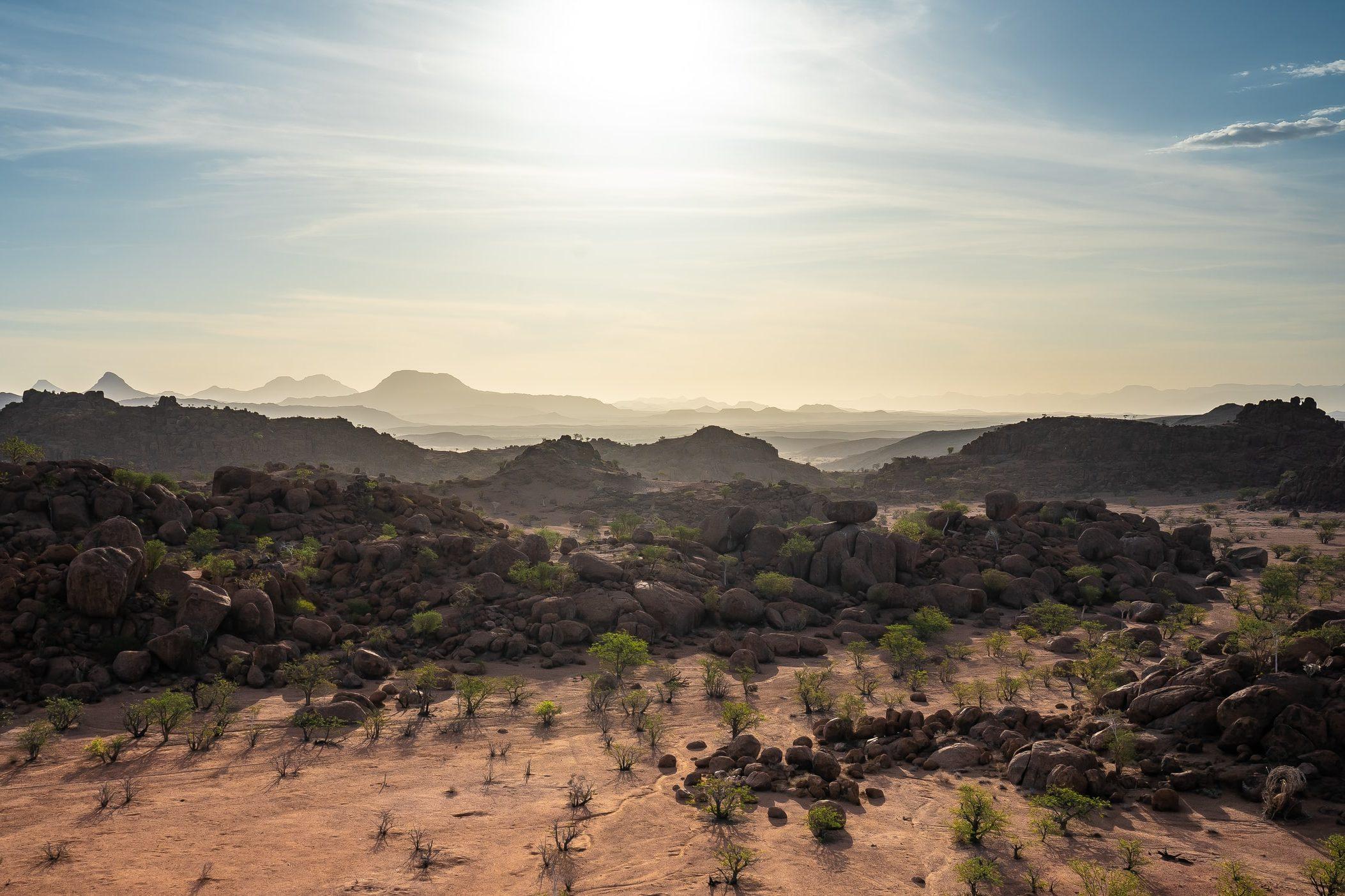 Namibia Sehenswürdigkeiten - Landschaft