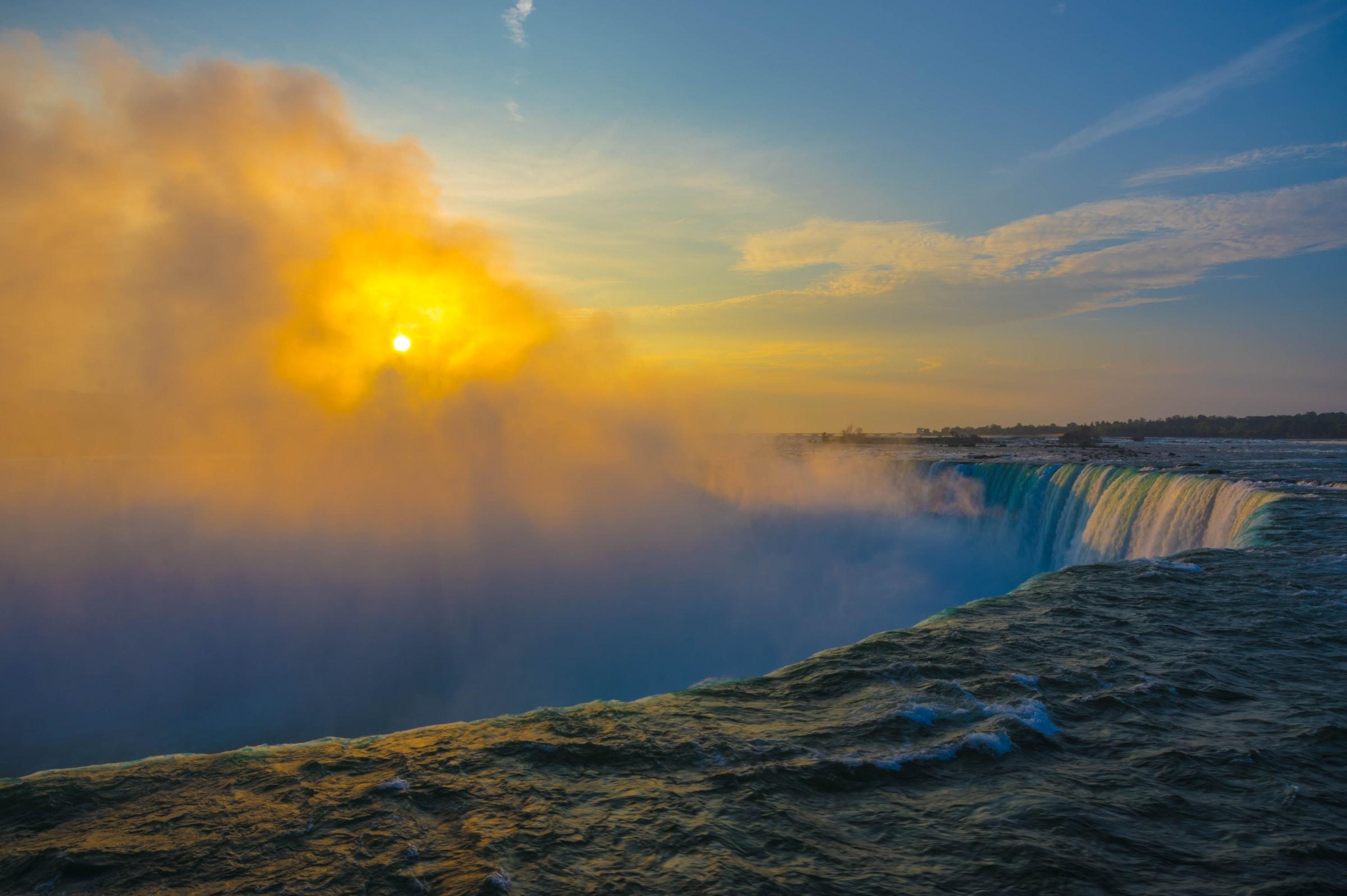 Niagarafälle Sonnenschein