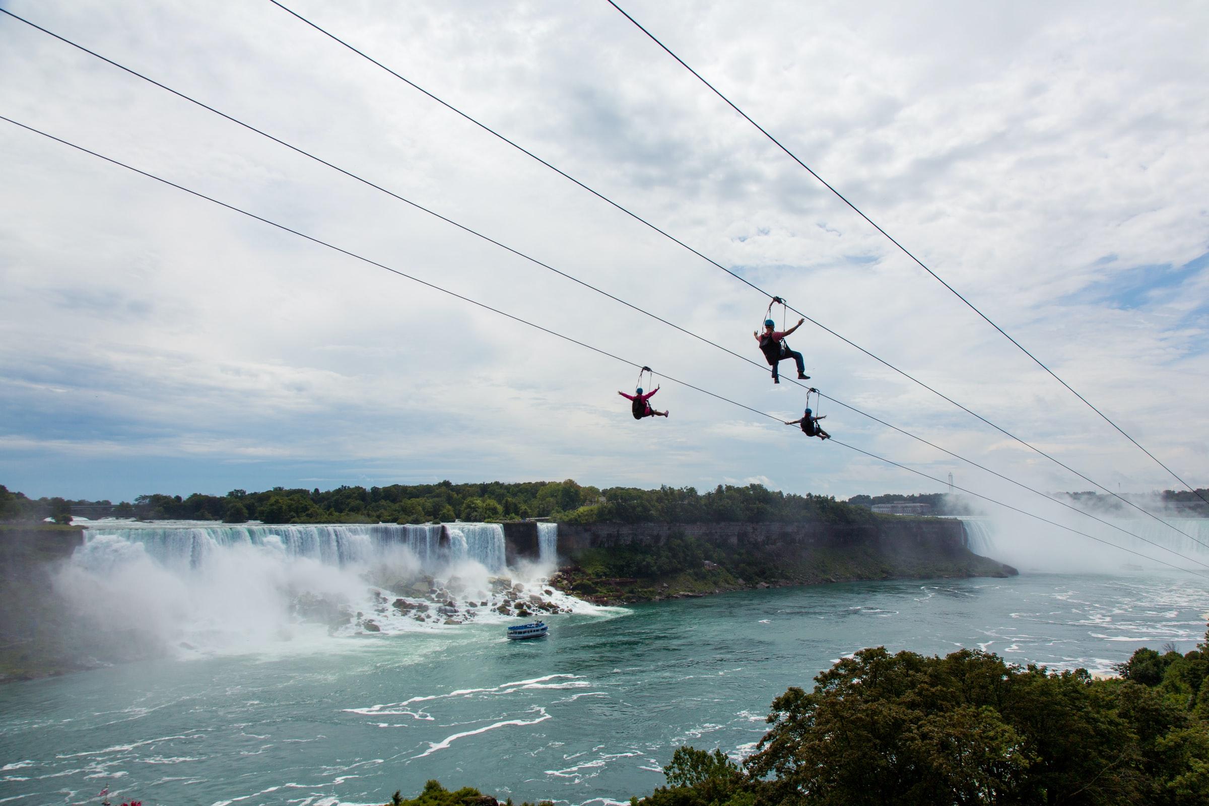 Niagarafälle Zipline