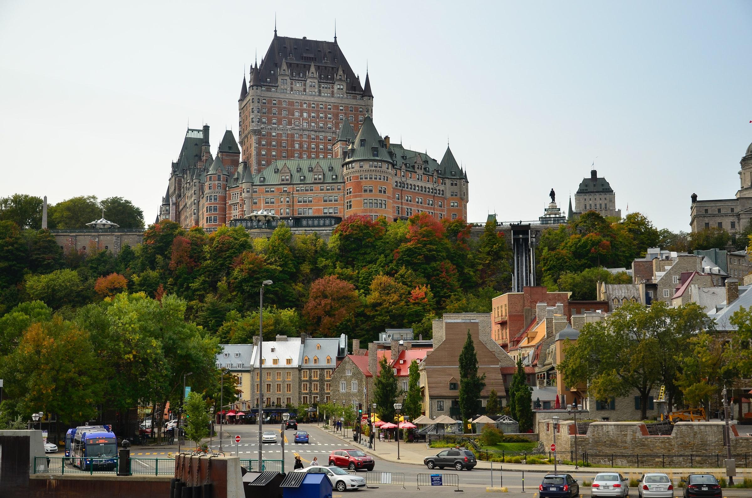 Quebec City Kanada Gebäude