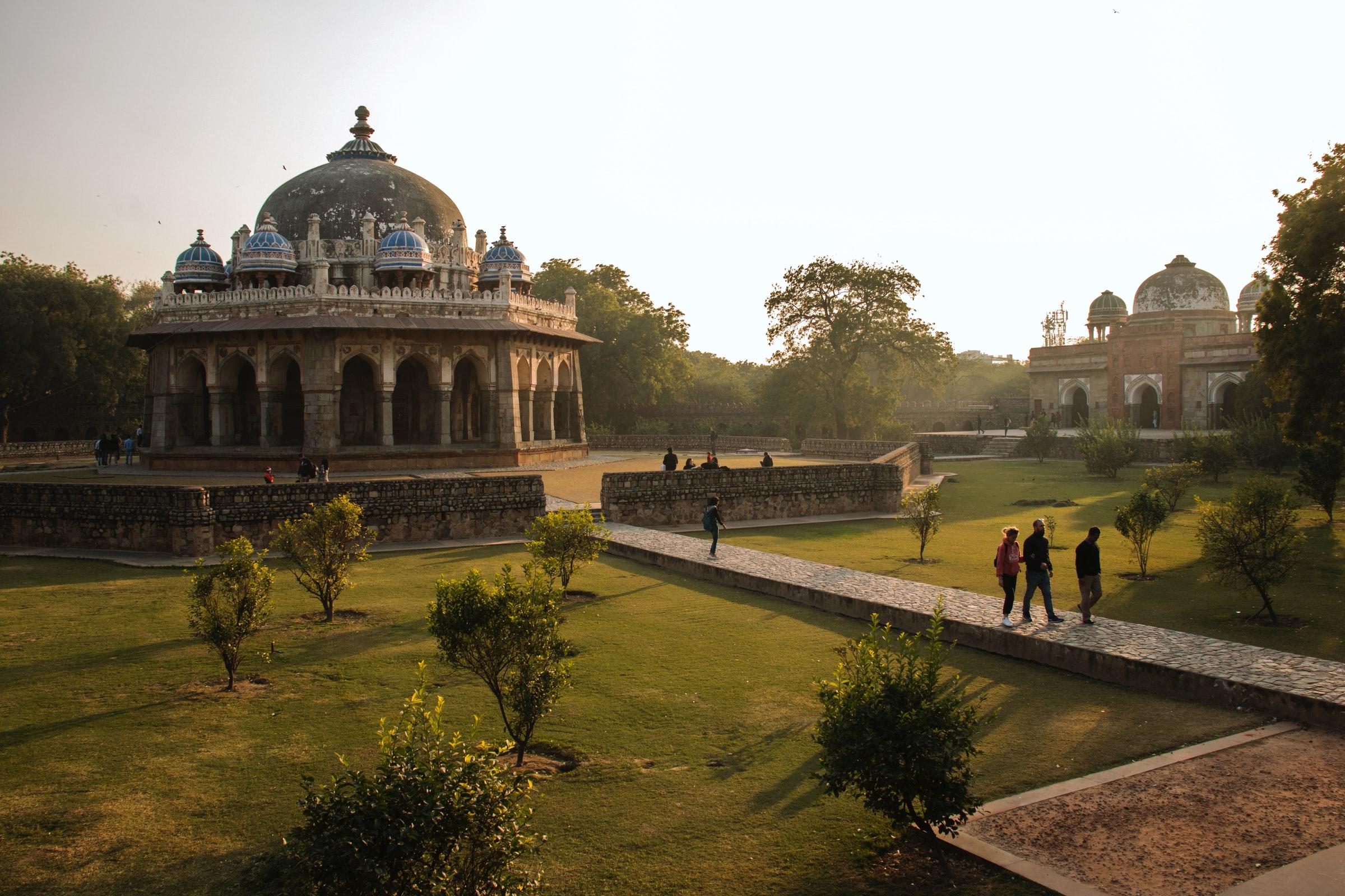 Reiseziele für März - Delhi Indien
