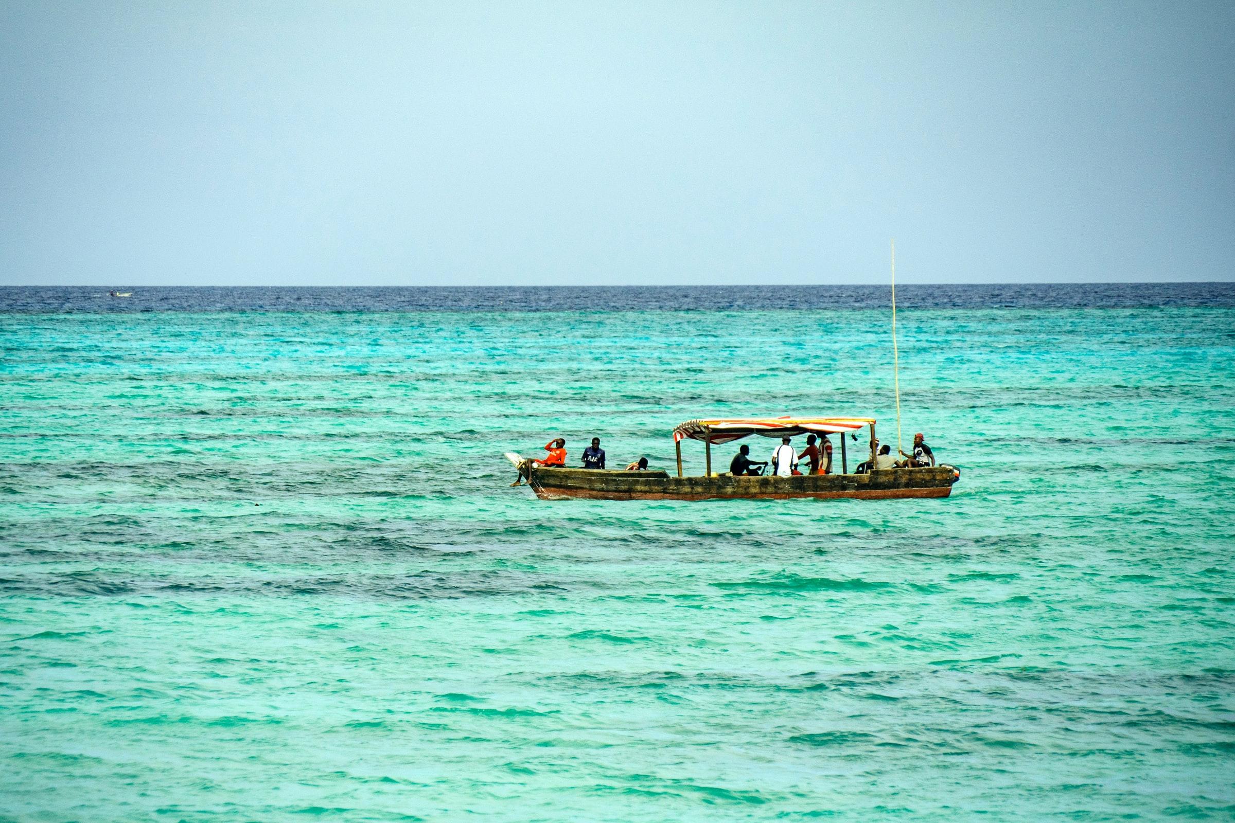 Sansibar Tansania - Meer