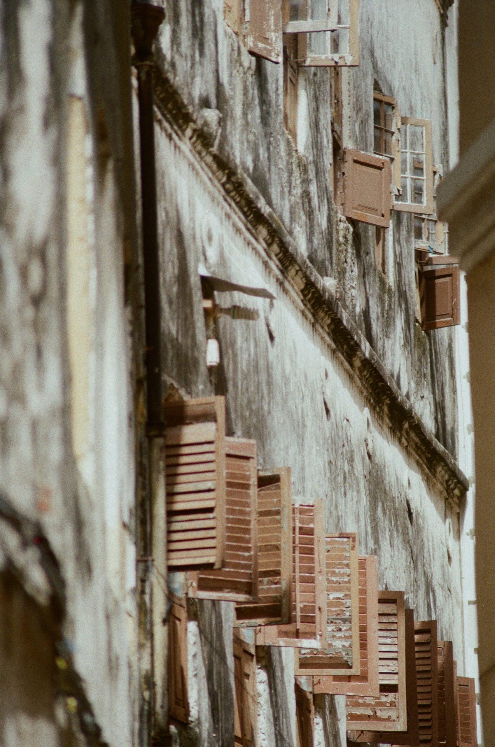 Sansibar Tansania - Stone Town Fensterläden