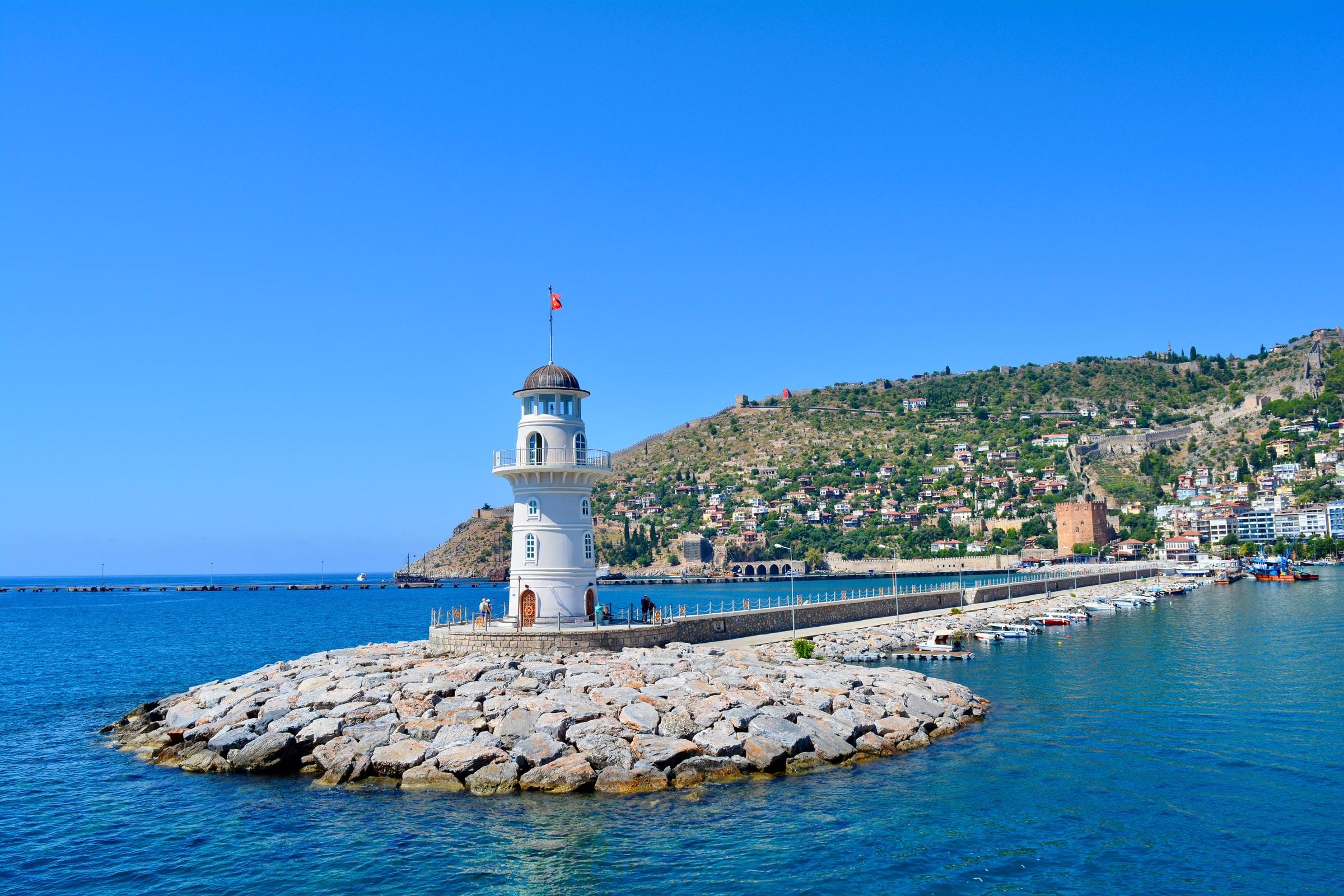 Türkei Alanya - Leuchtturm