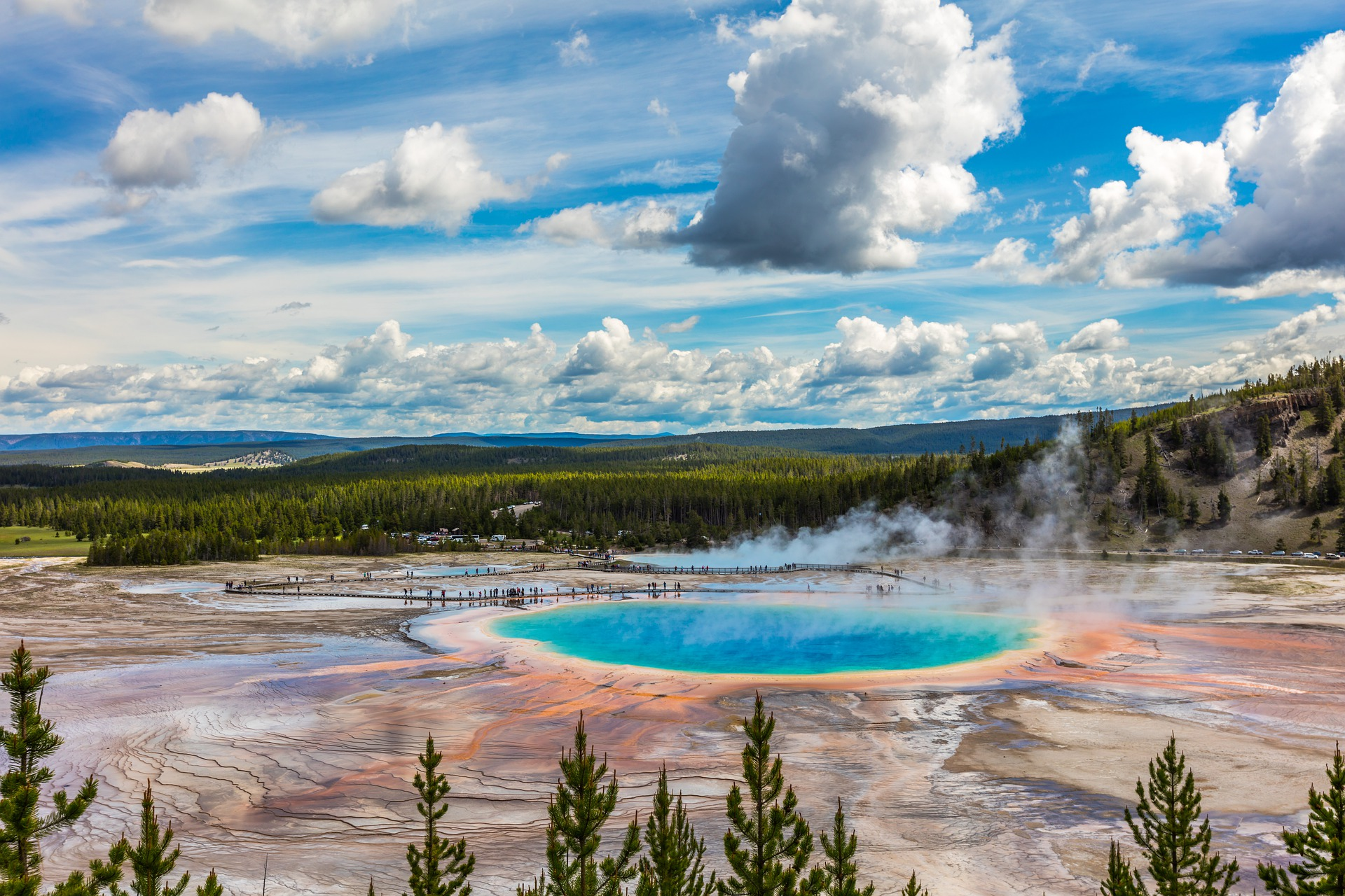 Yellowstone National Park - Landschaft