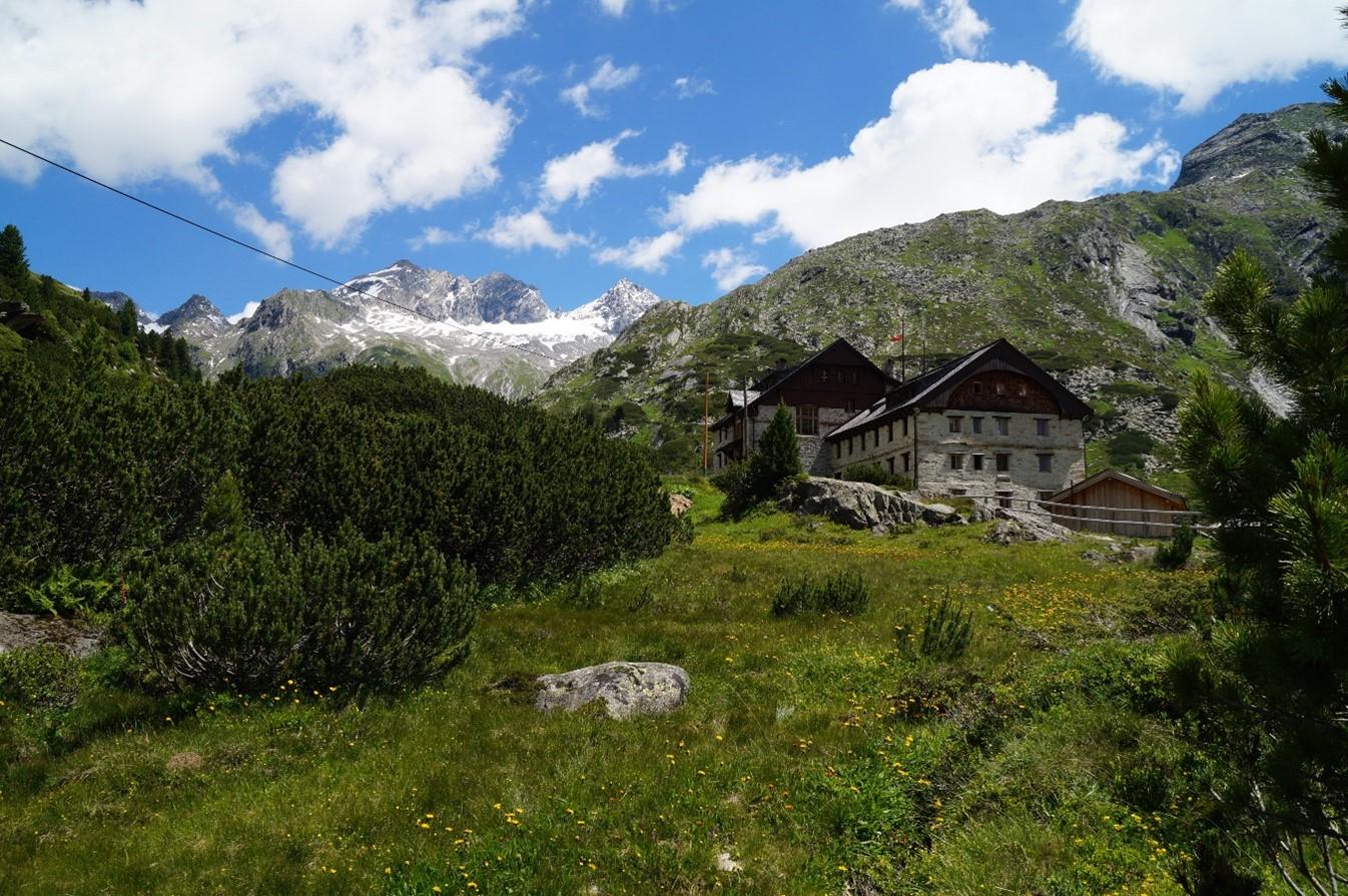 Zillertal - Natur und Häuser