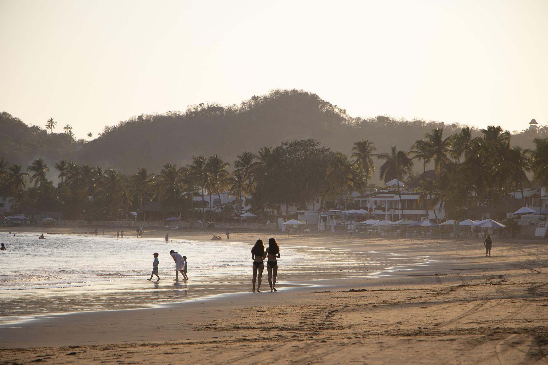 mexiko pazifikküste strand