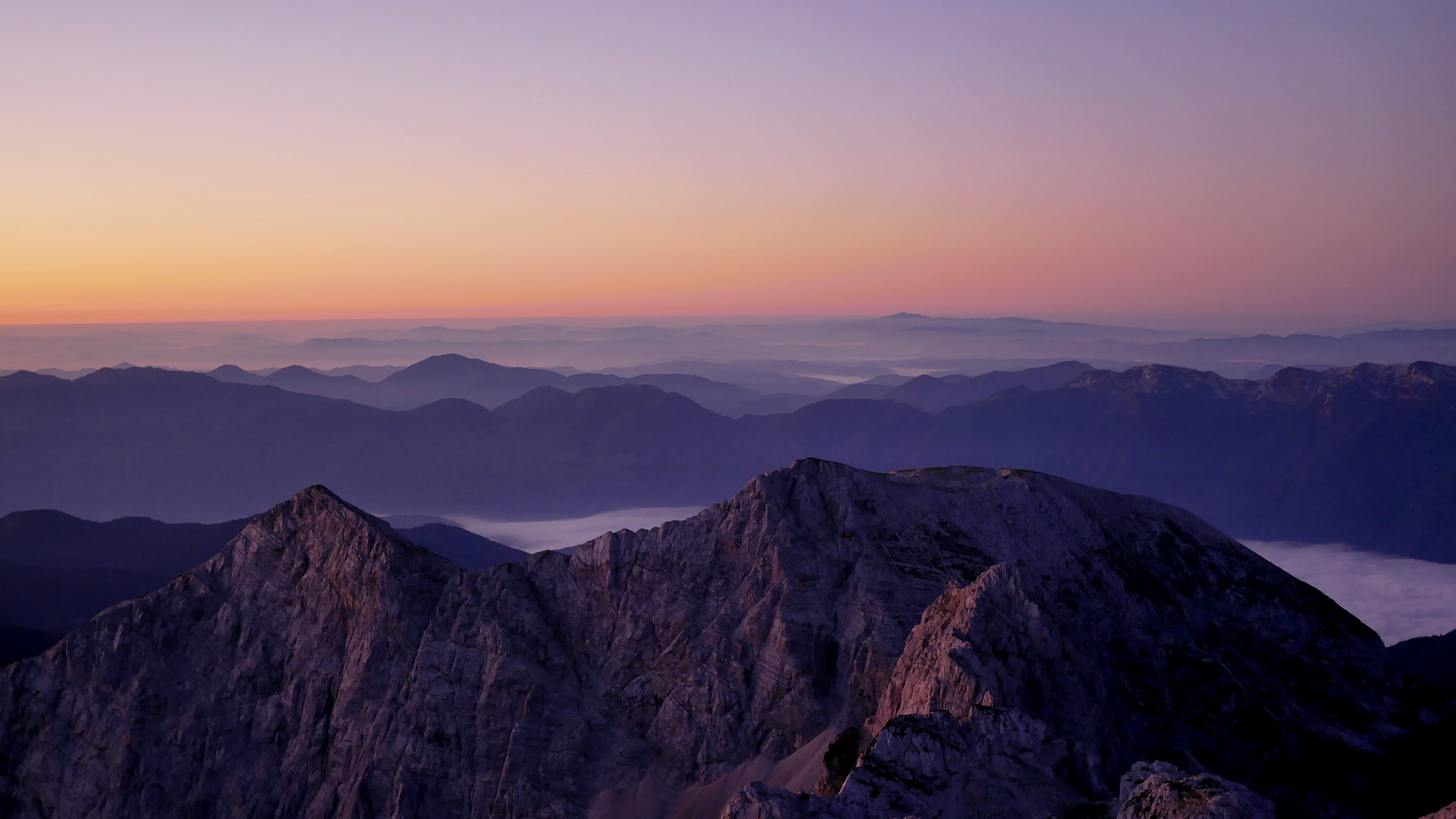 slowenien soca tal Berge