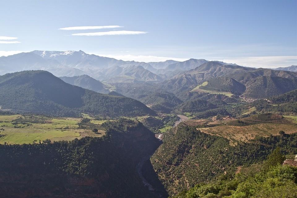 Atlas Mexiko Landschaft