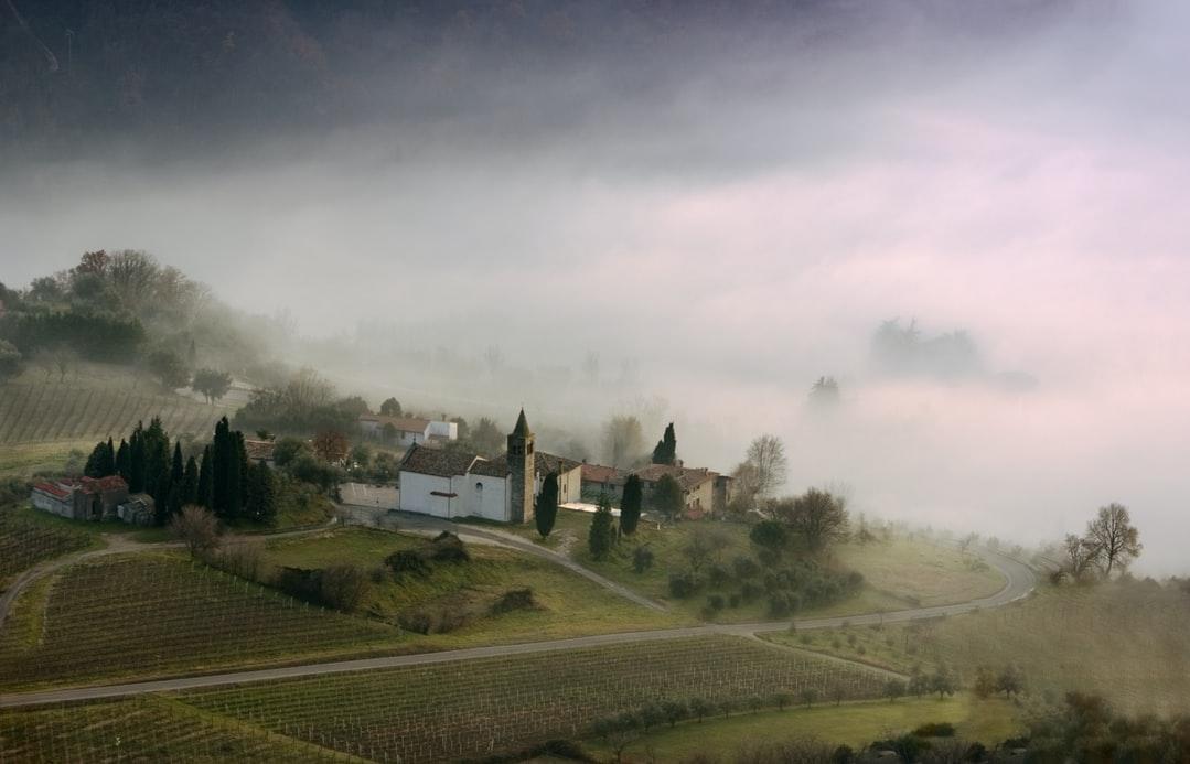 Hügellandschaft in Padua