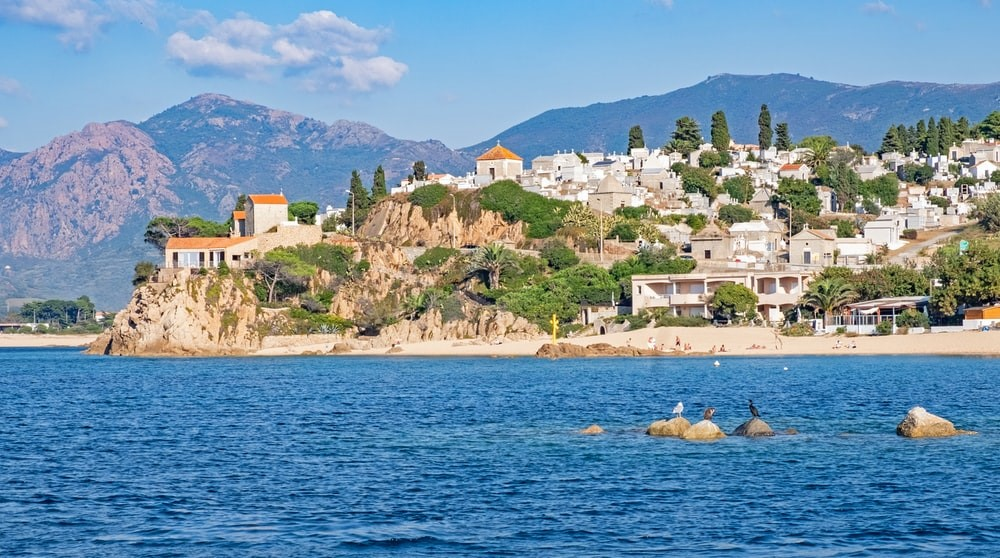 GR20 Korsika Meer