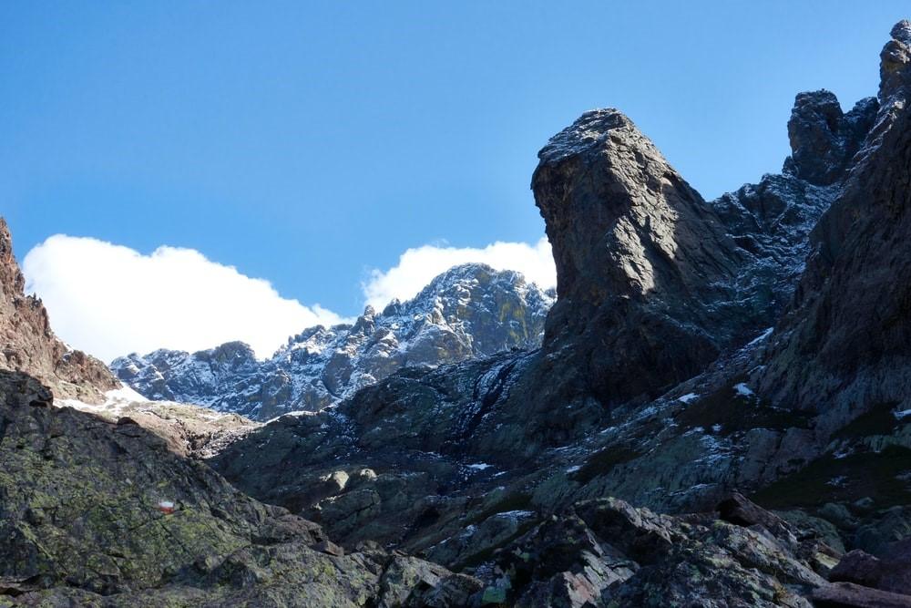 GR20 Berglandschaft