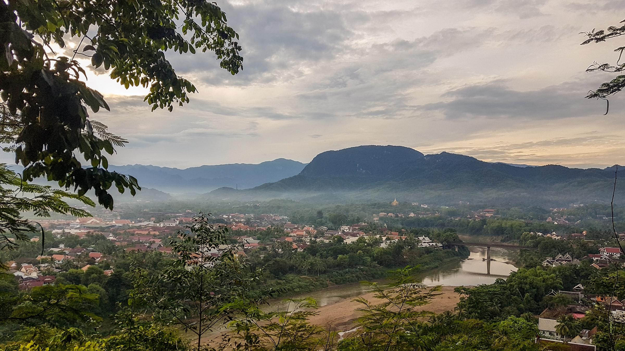 Mekong Landschaft