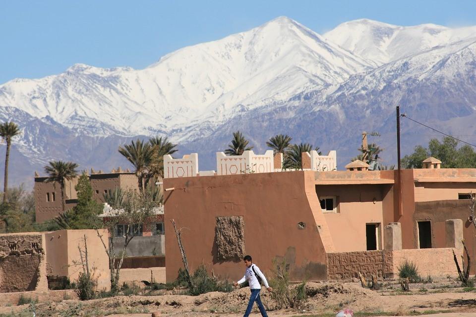 Hoher Atlas Mexiko Schnee