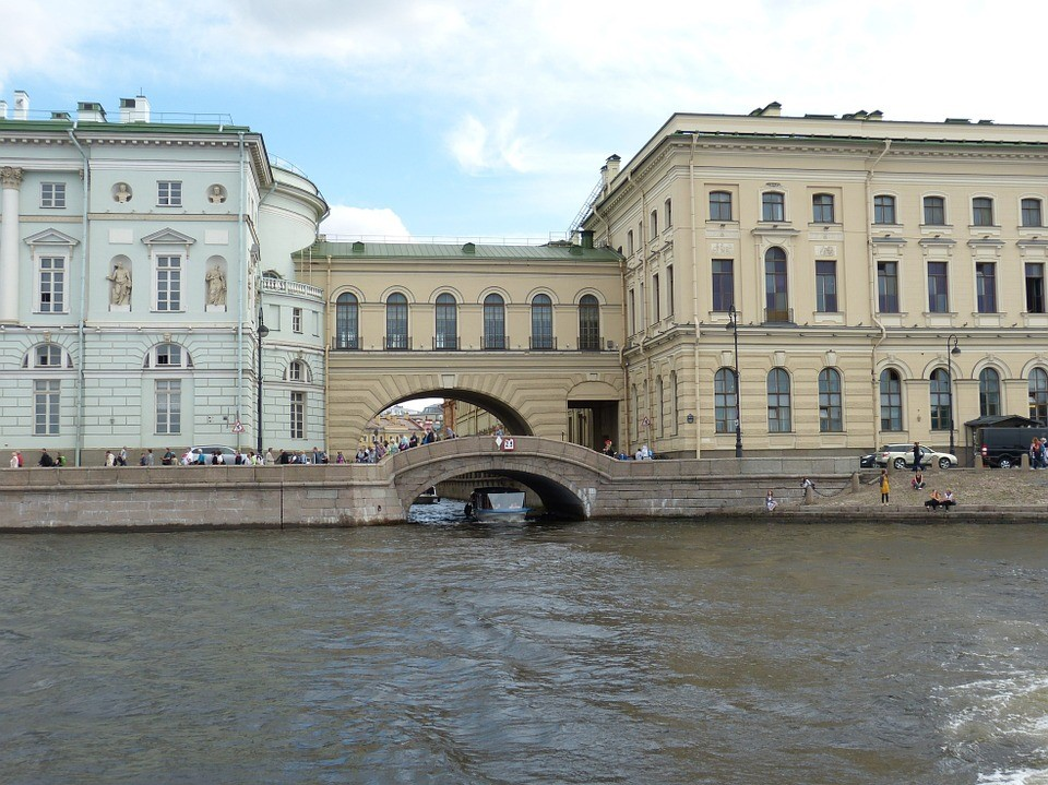 Newa St. Petersburg Fluss