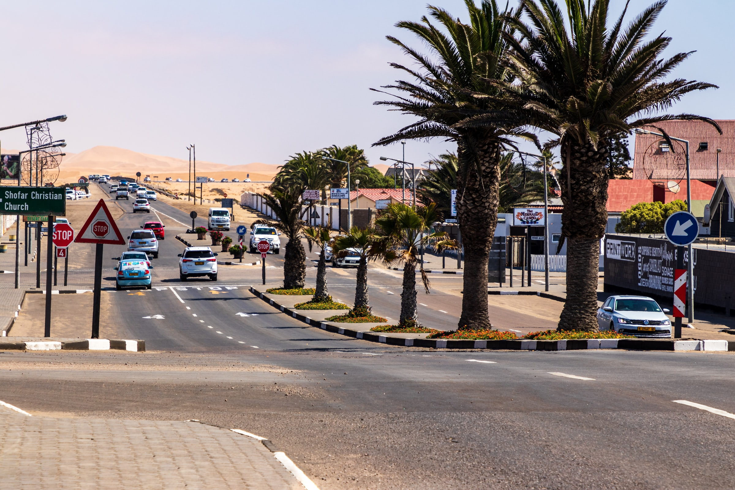 Namibia Straße