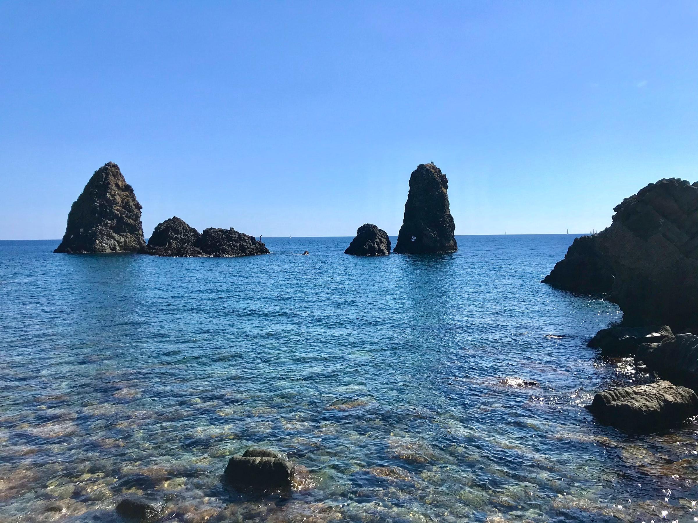 Riviera dei ciclopi Sizilien