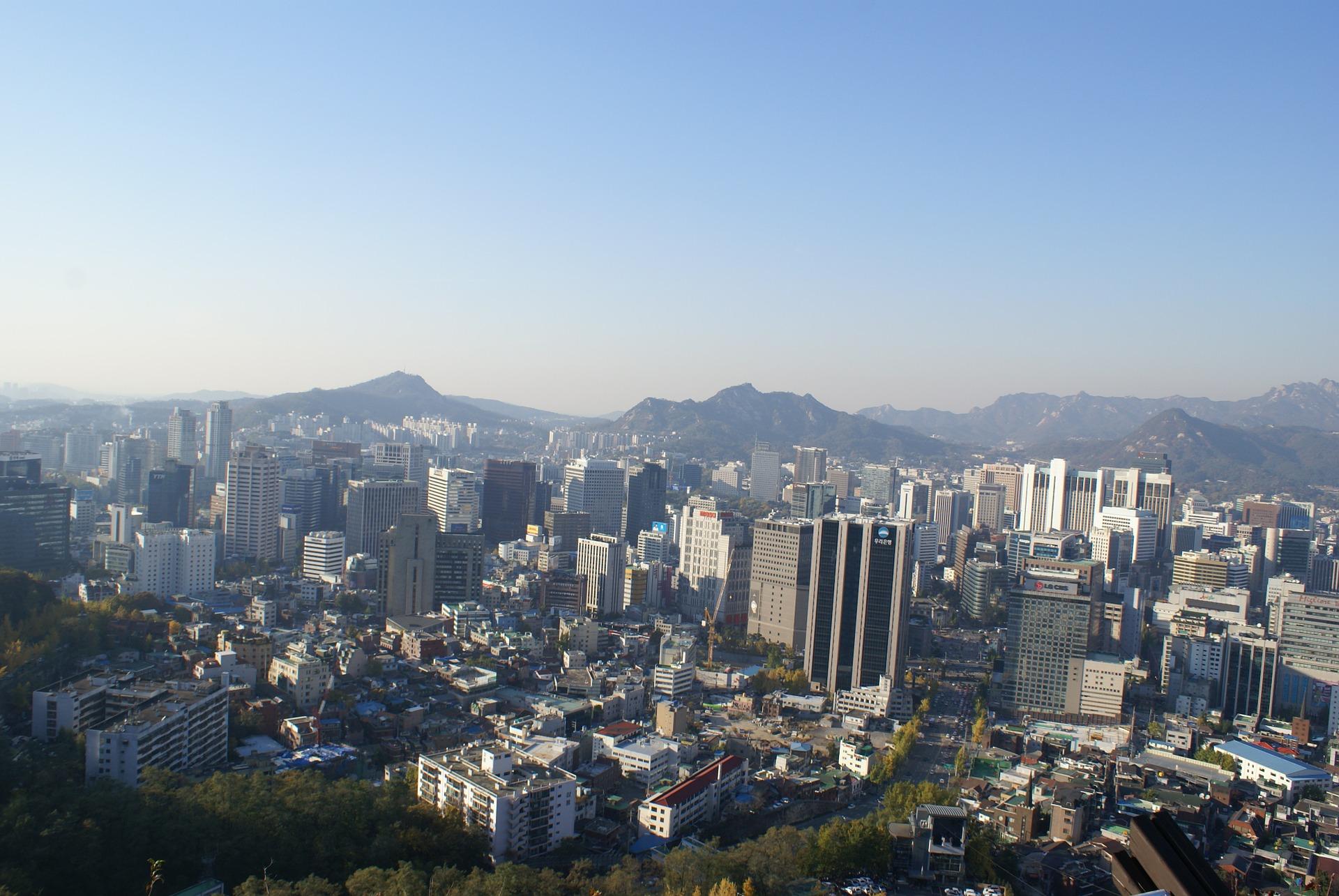 Seoul Südkorea Aussicht
