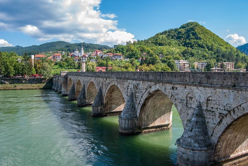 Višegrad Drinabrücke