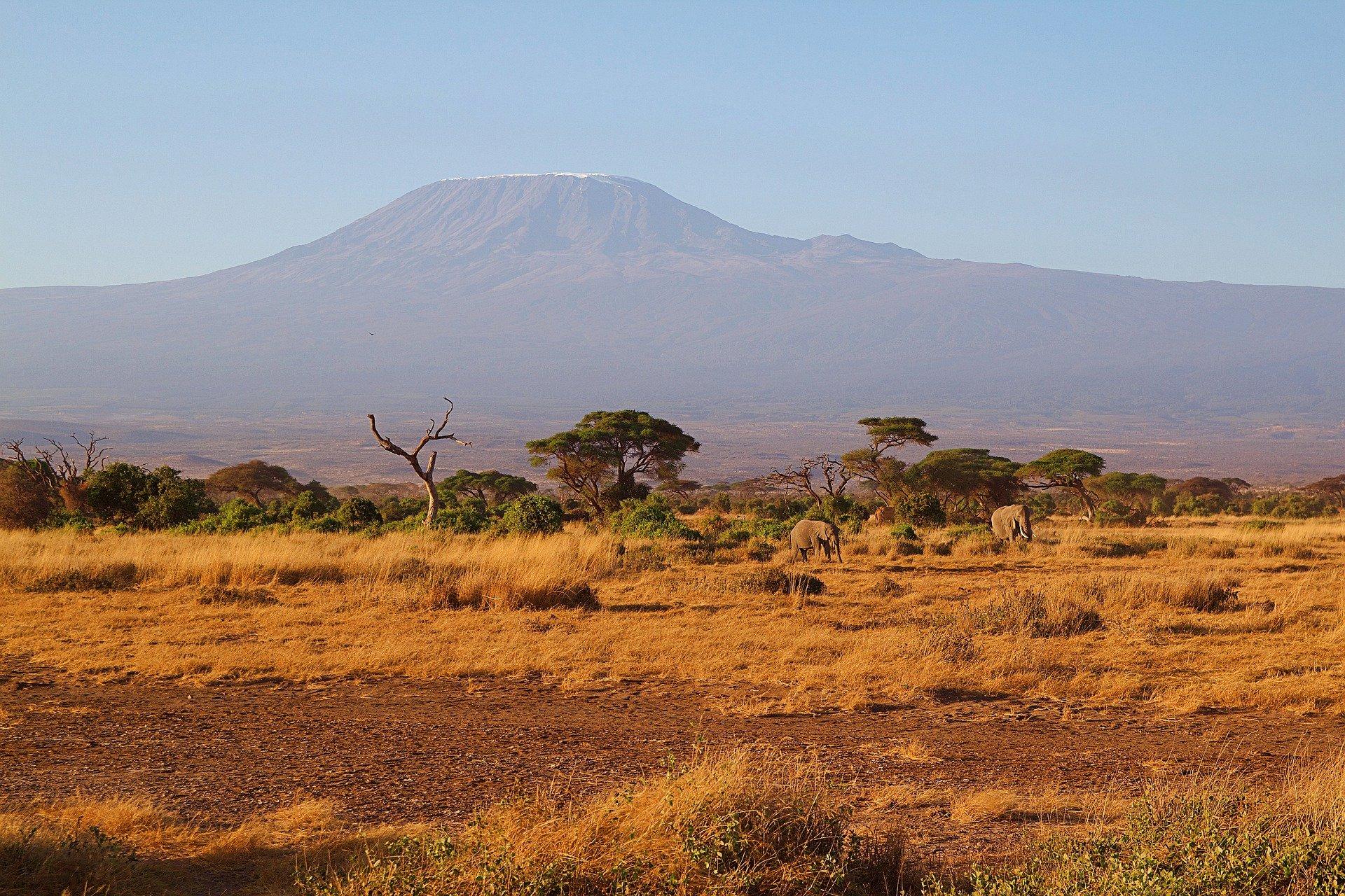 Kilimandscharo Afrika Übersicht