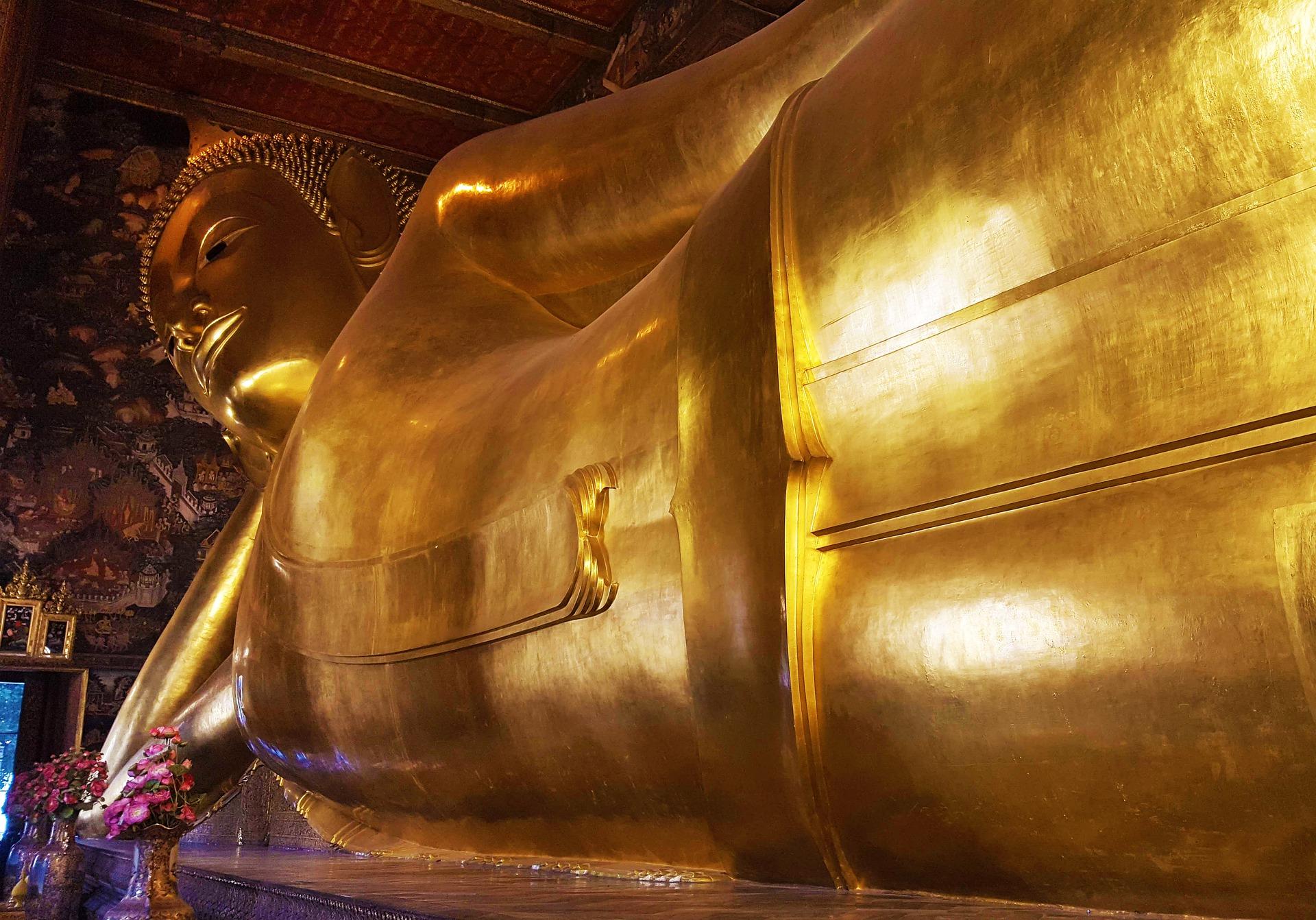 Wat Pho liegender Buddha