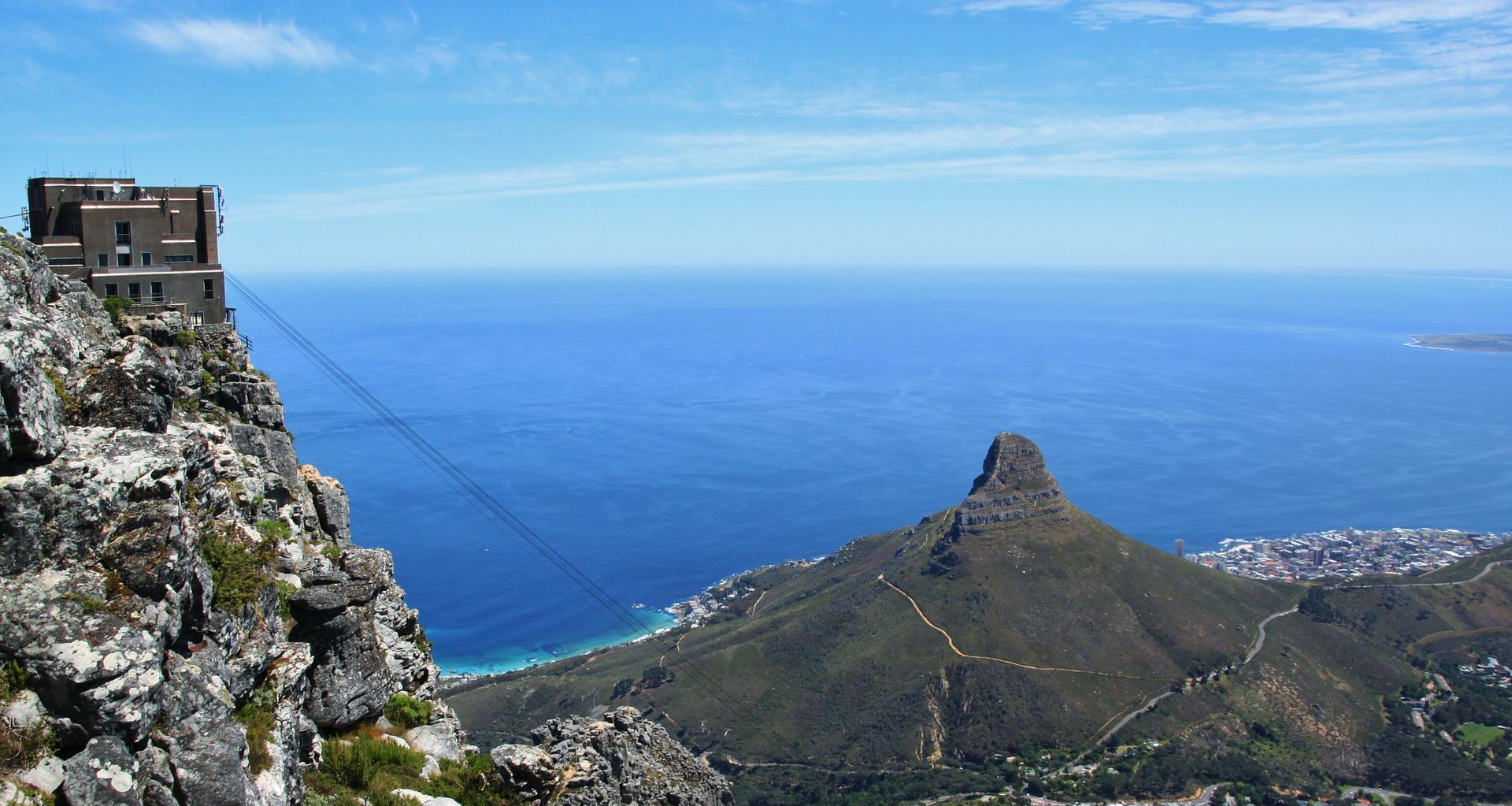 Ausblick vom Tafelberg