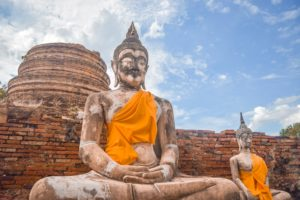 Tempel in Ayutthaya