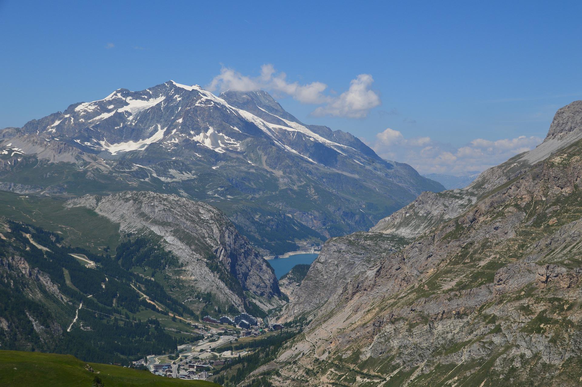Französische Alpen Berge