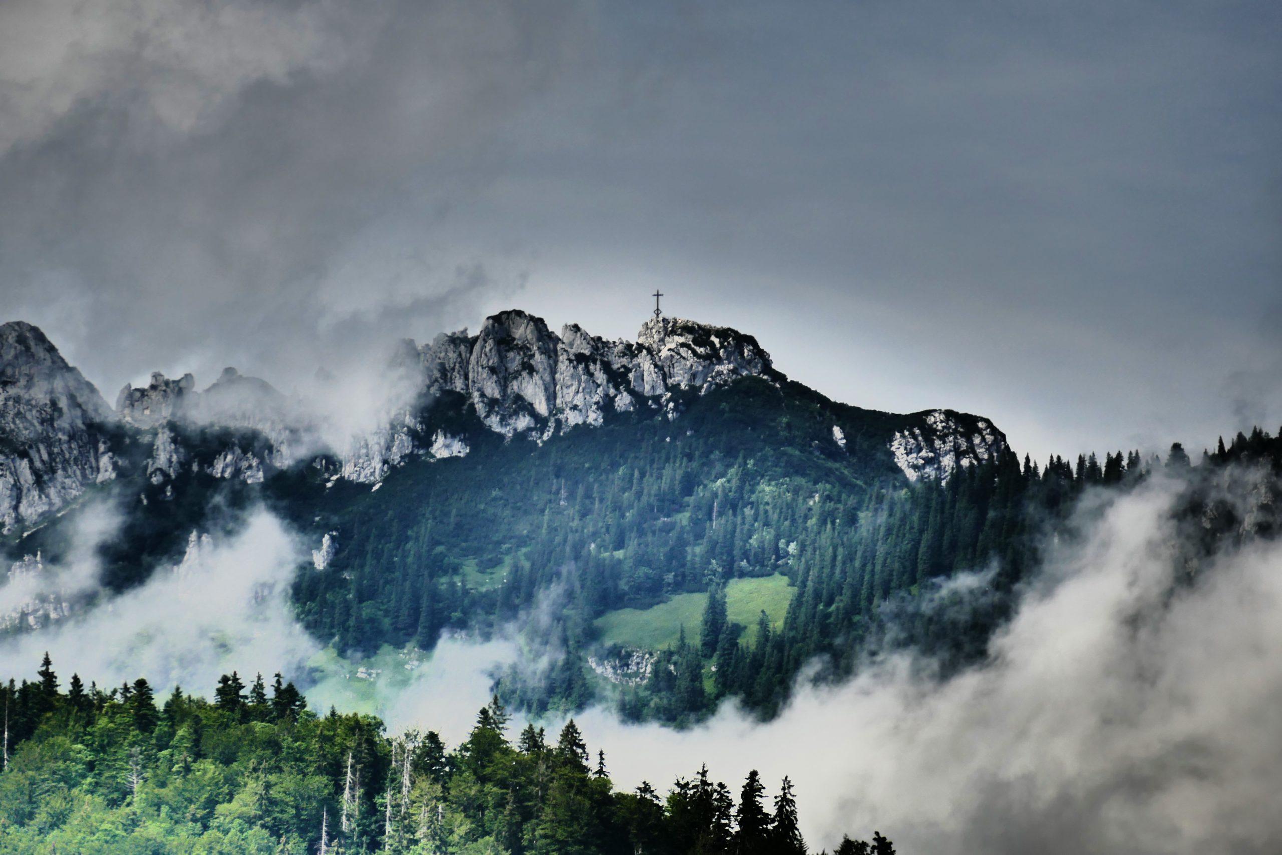 Kampenwand Alpen in Bayern