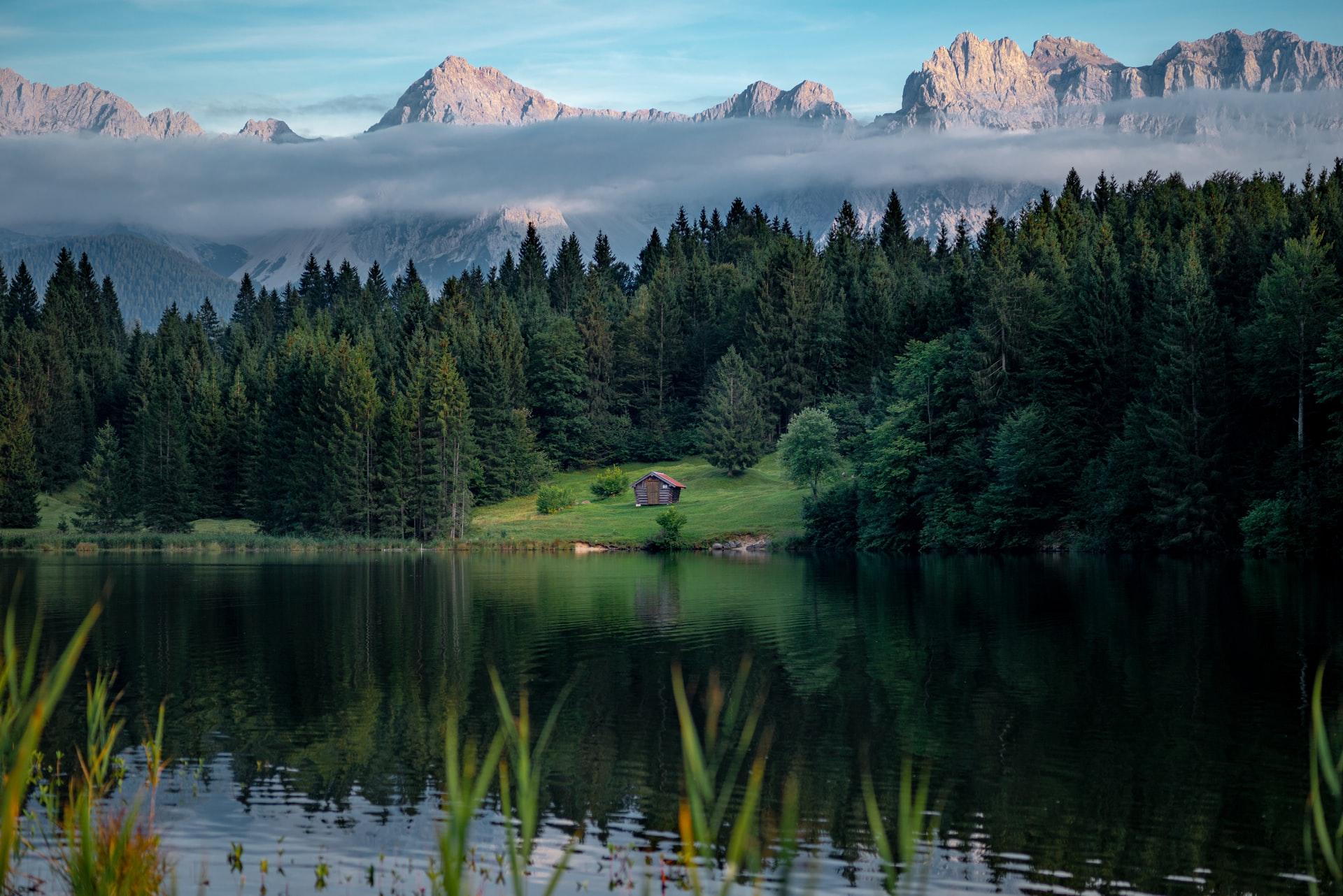 Karwendel Alpen in Bayern