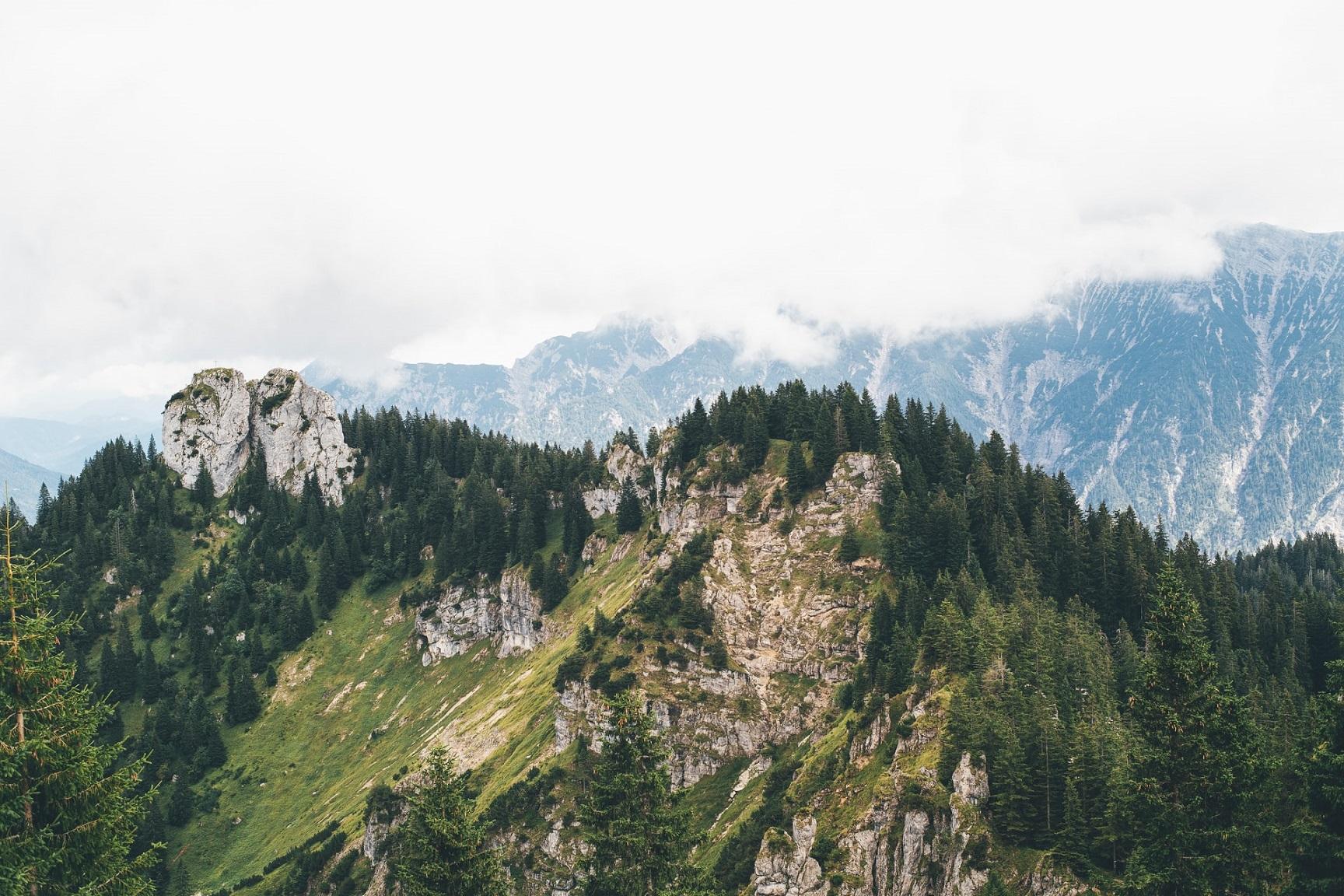 Oberammergau Berge Alpen in Bayern