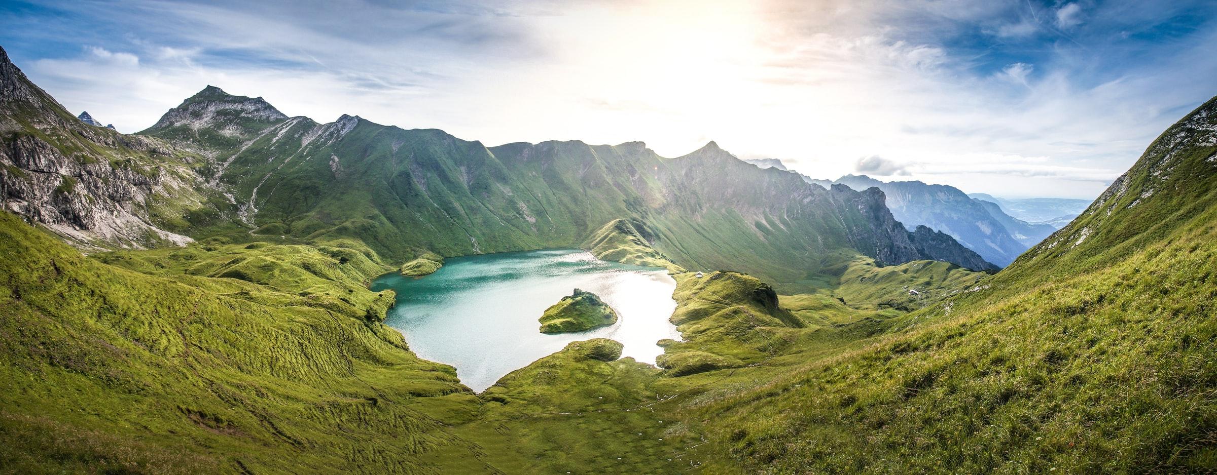 Schrecksee Alpen in Bayern