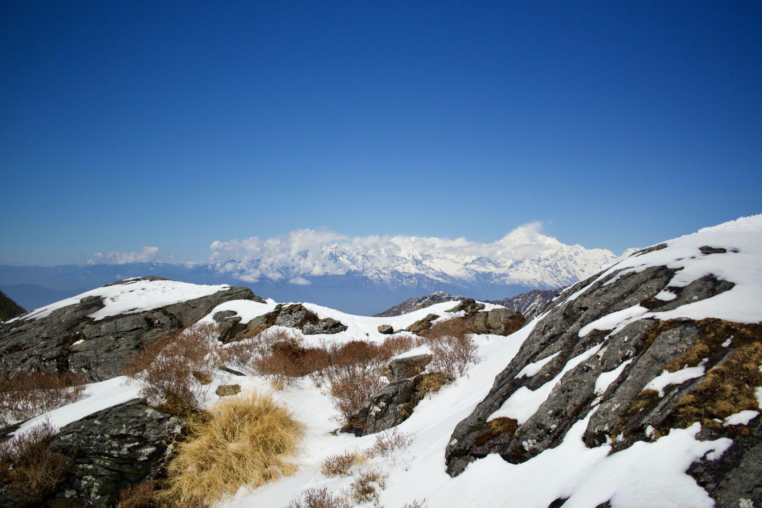 Sikkim Berge
