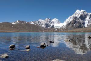 Sikkim Gewässer und Berge