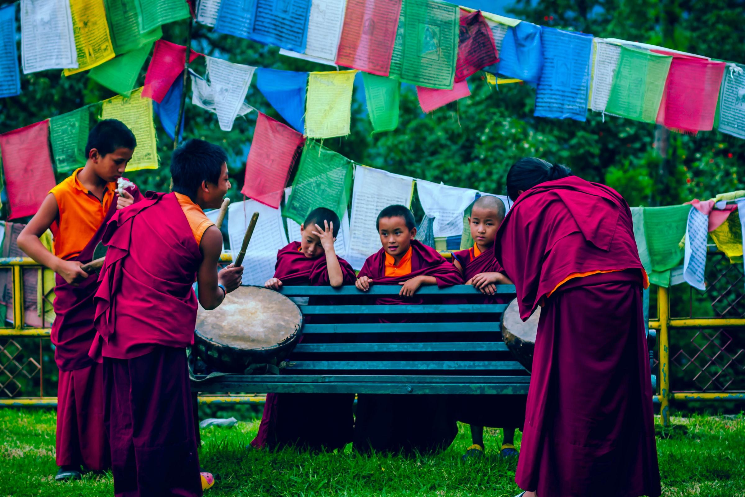 Sikkim Kinder und Jugendliche