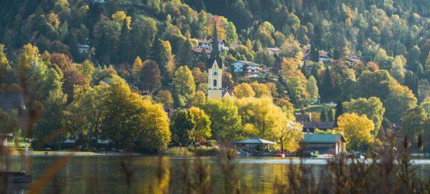 Urlaub daheim, Bergsee und Landschaft