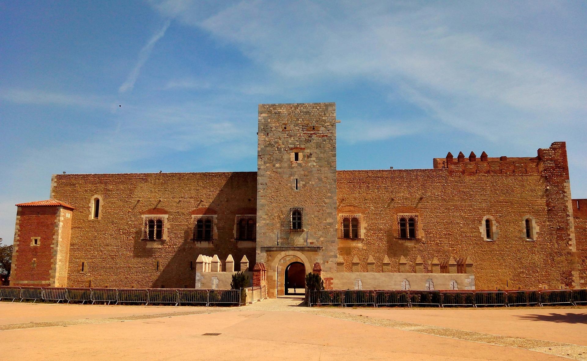 Das Schloss Perpignan