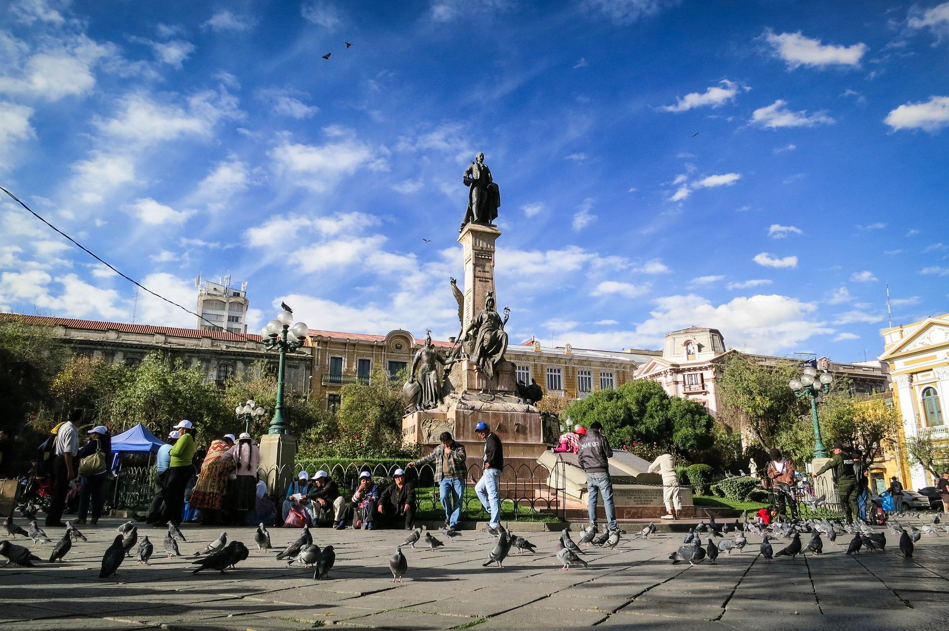 Wahrzeichen in La Paz