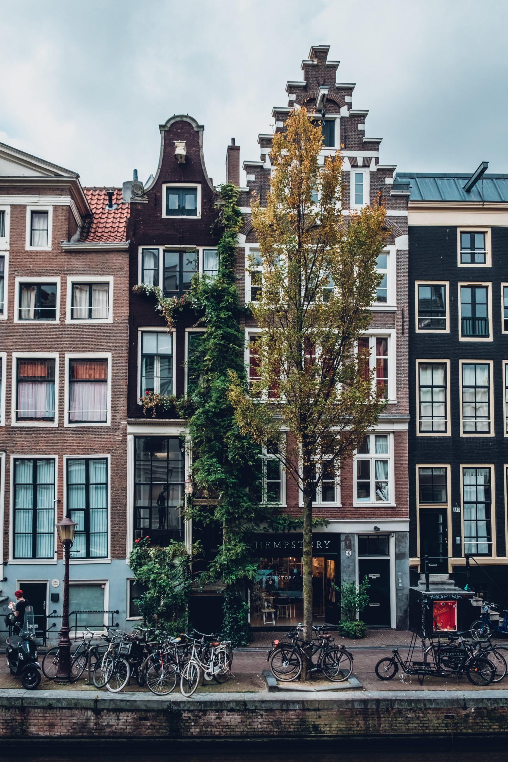 Das kleinste Haus in Amsterdam
