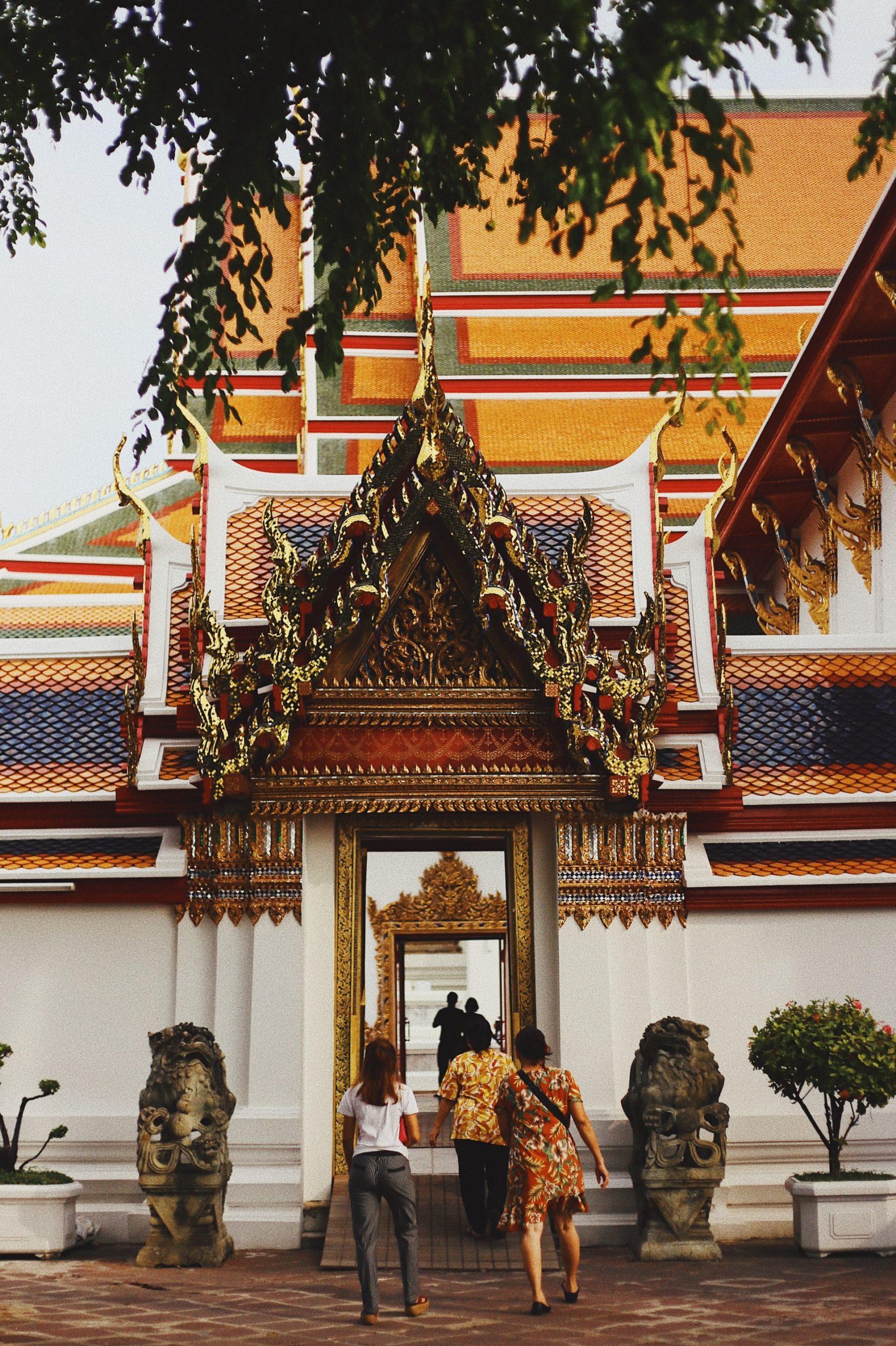 Der buddhistische Wat Pho Tempel